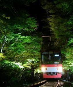 叡電ライトアップ