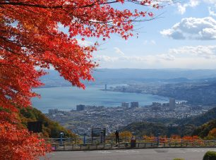 夢見が丘の紅葉