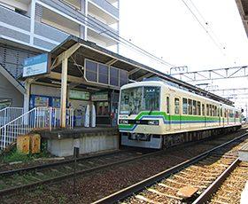叡山電車「修学院駅」